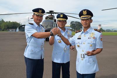 Letkol Pnb Suryo Patmonobo.S.Sos Jabat Komandan Skadron Udara 6