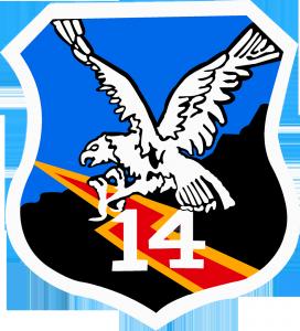 logo skadron 14