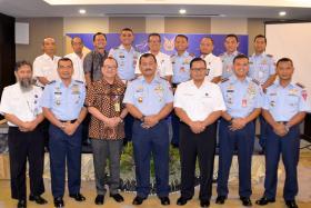 Penandatanganan Kerjasama Lanud Sultan Hasanuddin dengan AIRNAV