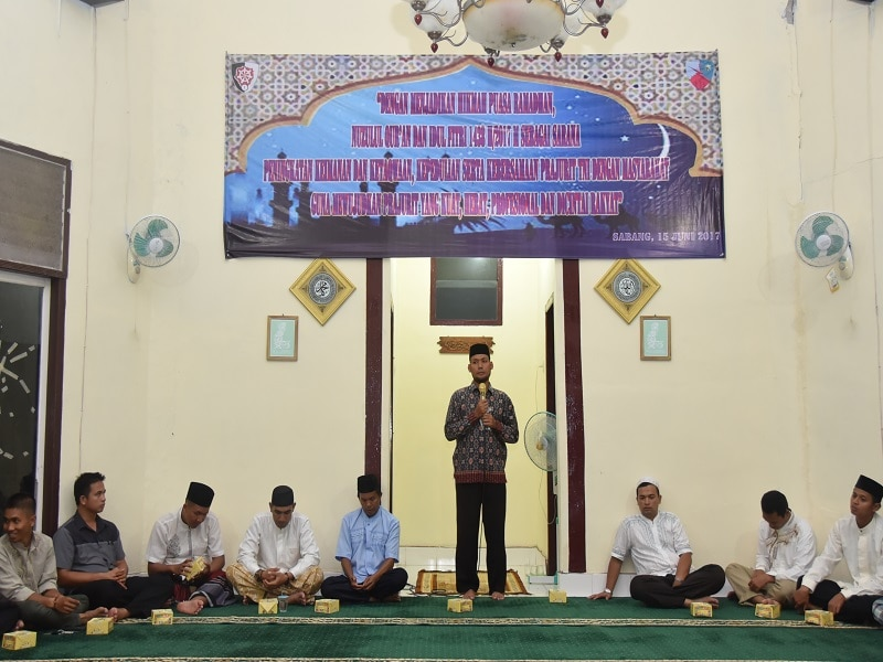 Prajurit Lanud Maimun Saleh Peringati Nuzunul Qur'an