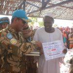 Pasukan Garuda Bantu Masyarakat Desa Krinding di Sudan