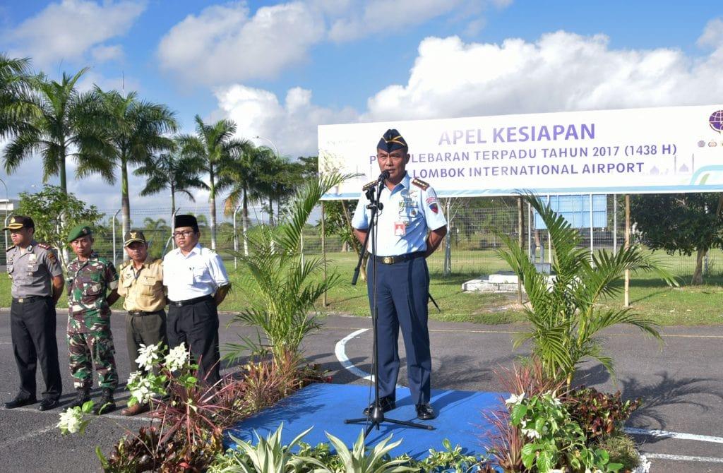 Sinergitas Kunci Keamanan dan Kenyamanan di Bandara Lombok