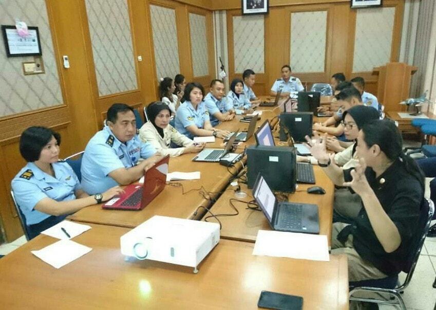 Pelatihan Portal TNI AU