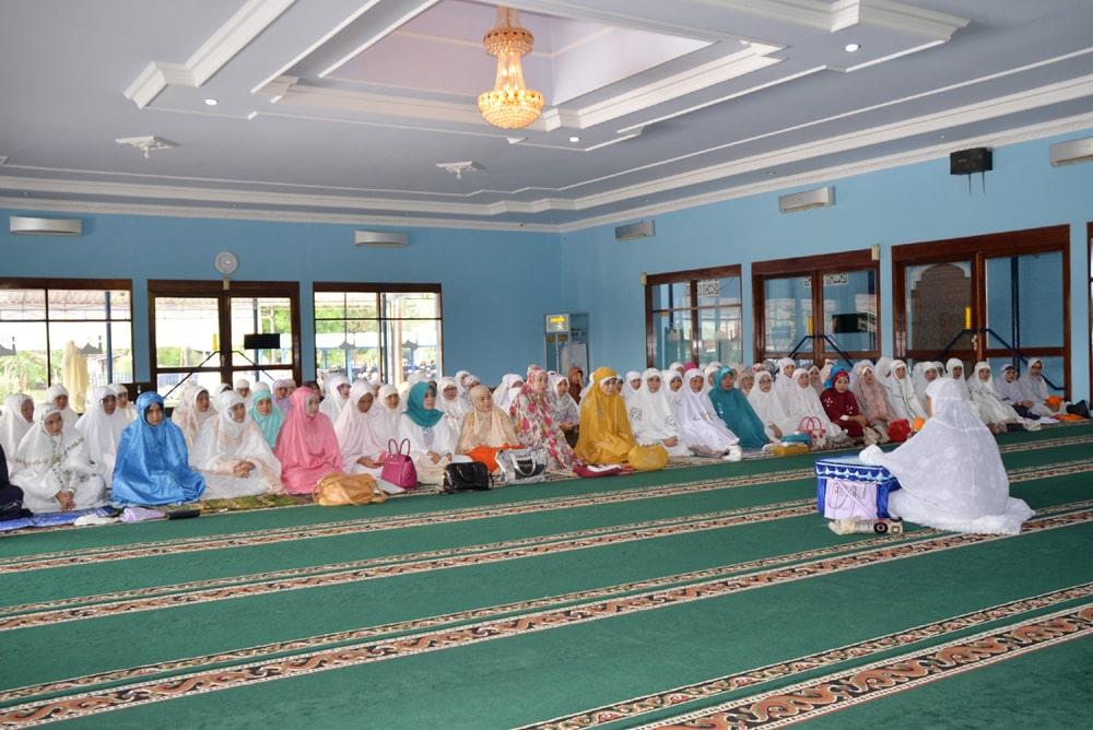 Pia Lanud Iwj, Mencari Berkah di Bulan Ramadhan Dengan Melaksanakan Tadarus & Sholat Sunah