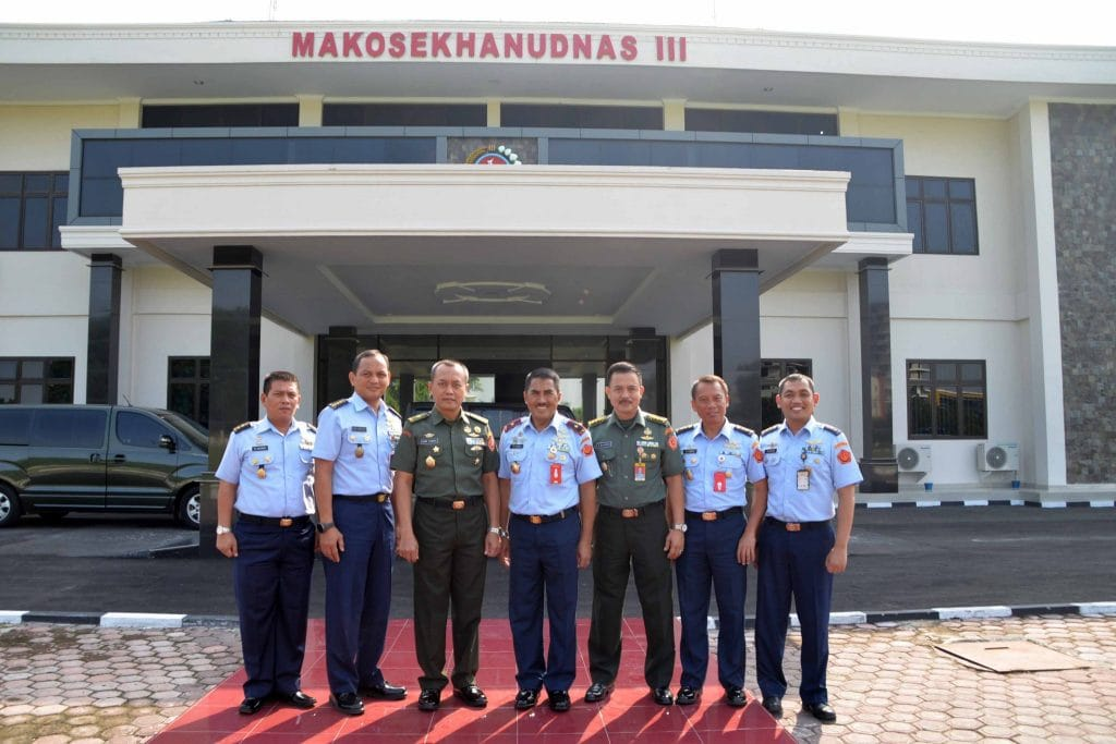 Kunjungan Kerja Tim Evaluasi Sesko TNI ke Kosekhanudnas III