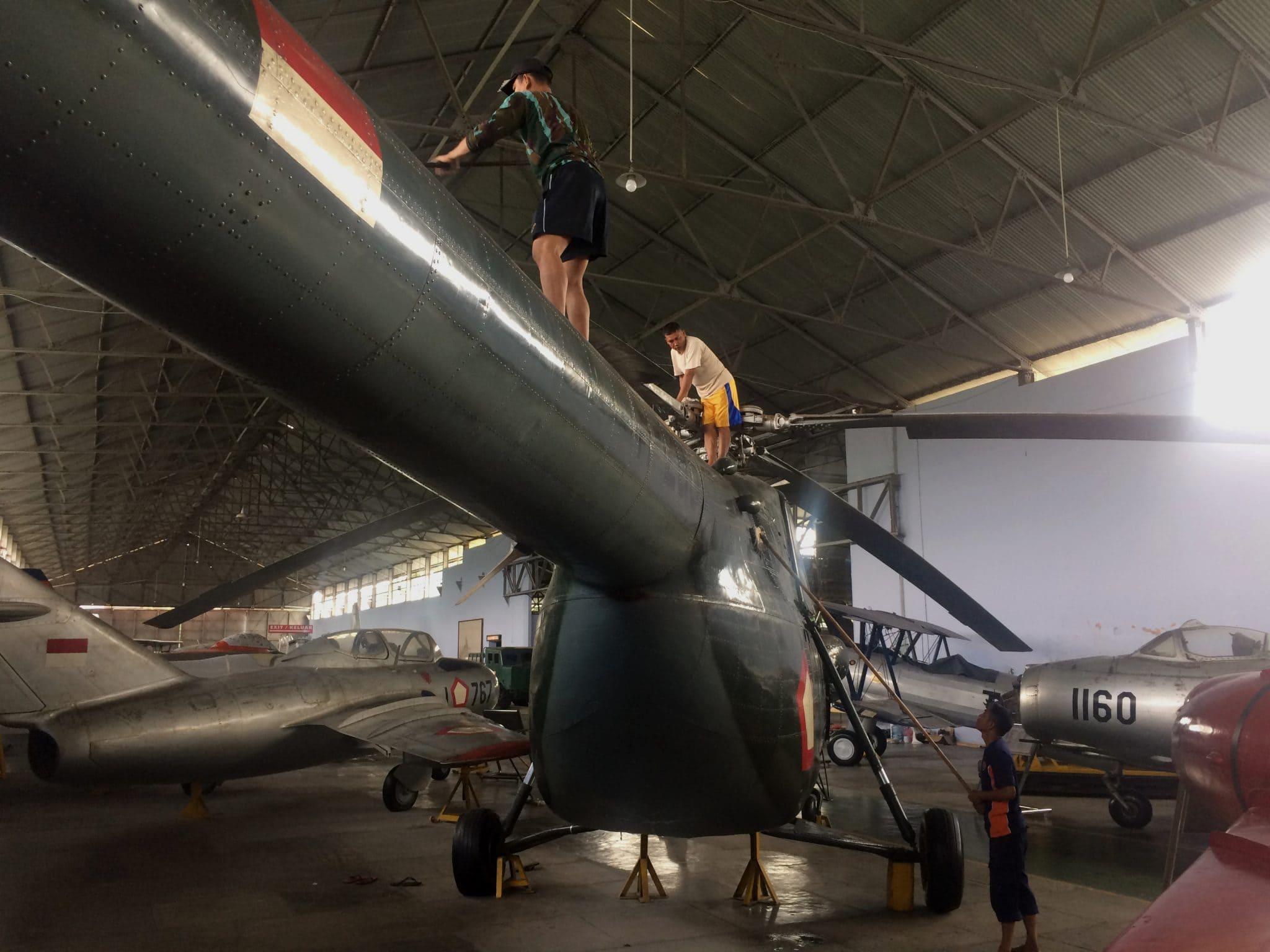 Kegiatan Menyongsong Hari Bhakti Tni Angkatan Udara Ke-70