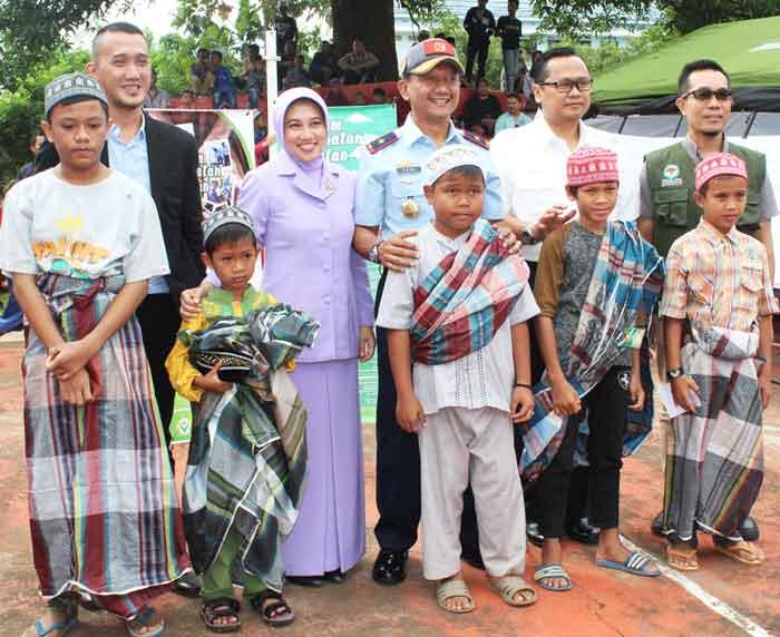 Sambut Hari Bakti TNI AU Ke-70 Kosekhanudnas II Gelar Sunatan Massal