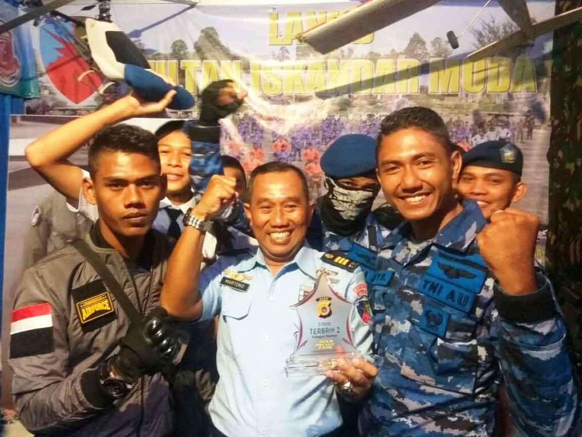 Lanud Sim Sabet Juara Ke-2 Stand Terbaik Aceh Police Expo 2017