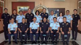 Kunjungan Perwira Thailand Ke Markas Kohanudnas