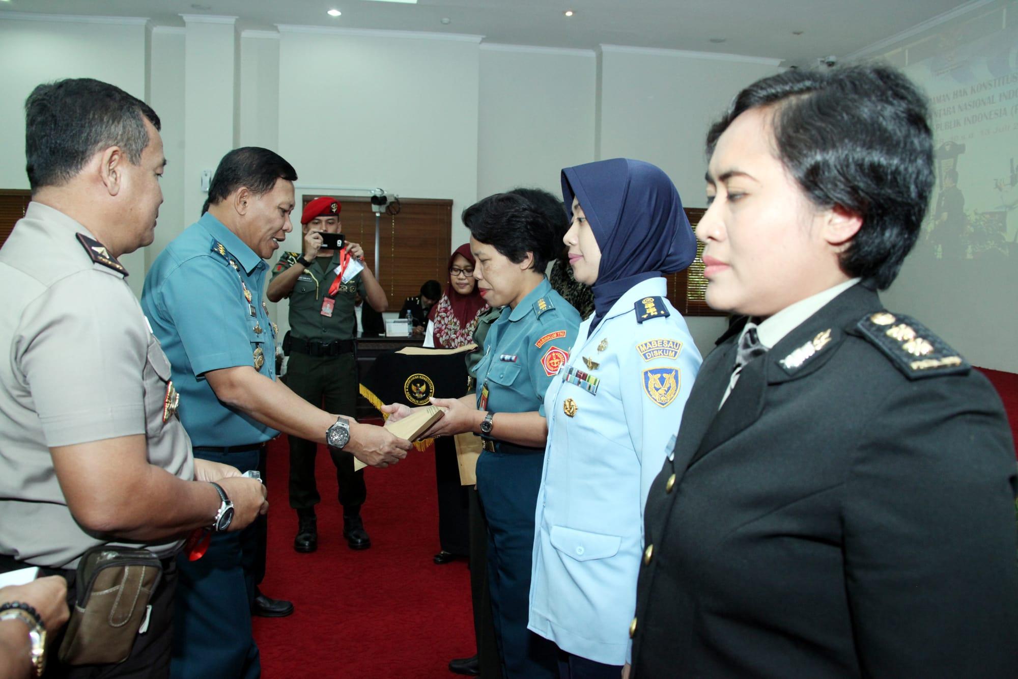 Panglima TNI : Kiprah Wanita TNI-Polri MilikiKesamaan Hak dan Kesempatan