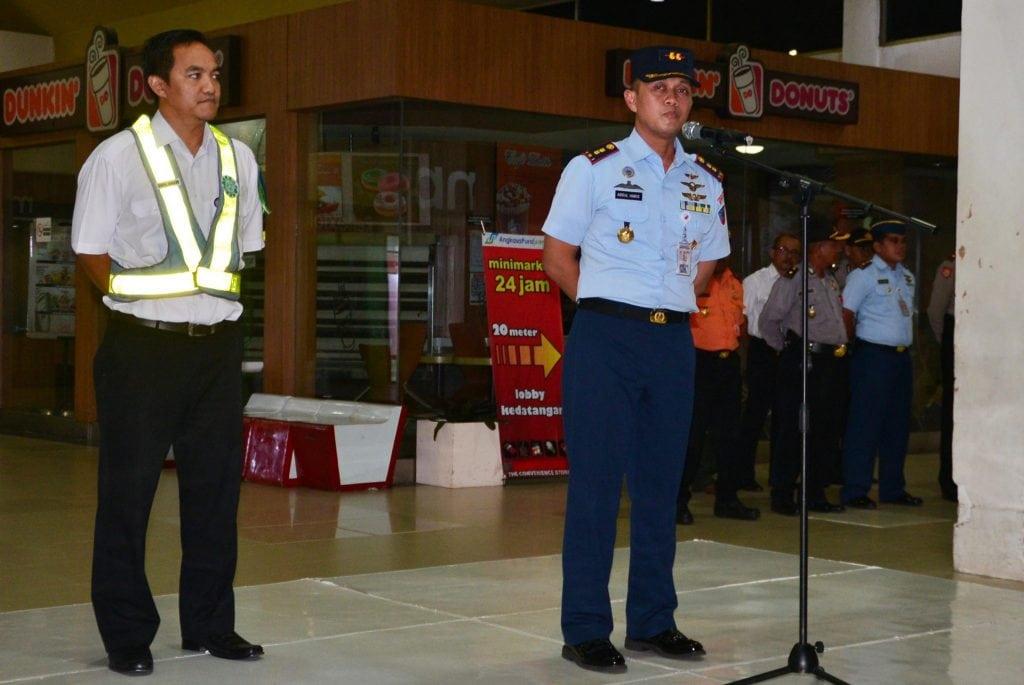 Penutupan Posko Terpadu Pam Angkutan Lebaran 2017 BandaraSyamsudin Noor Banjarmasin