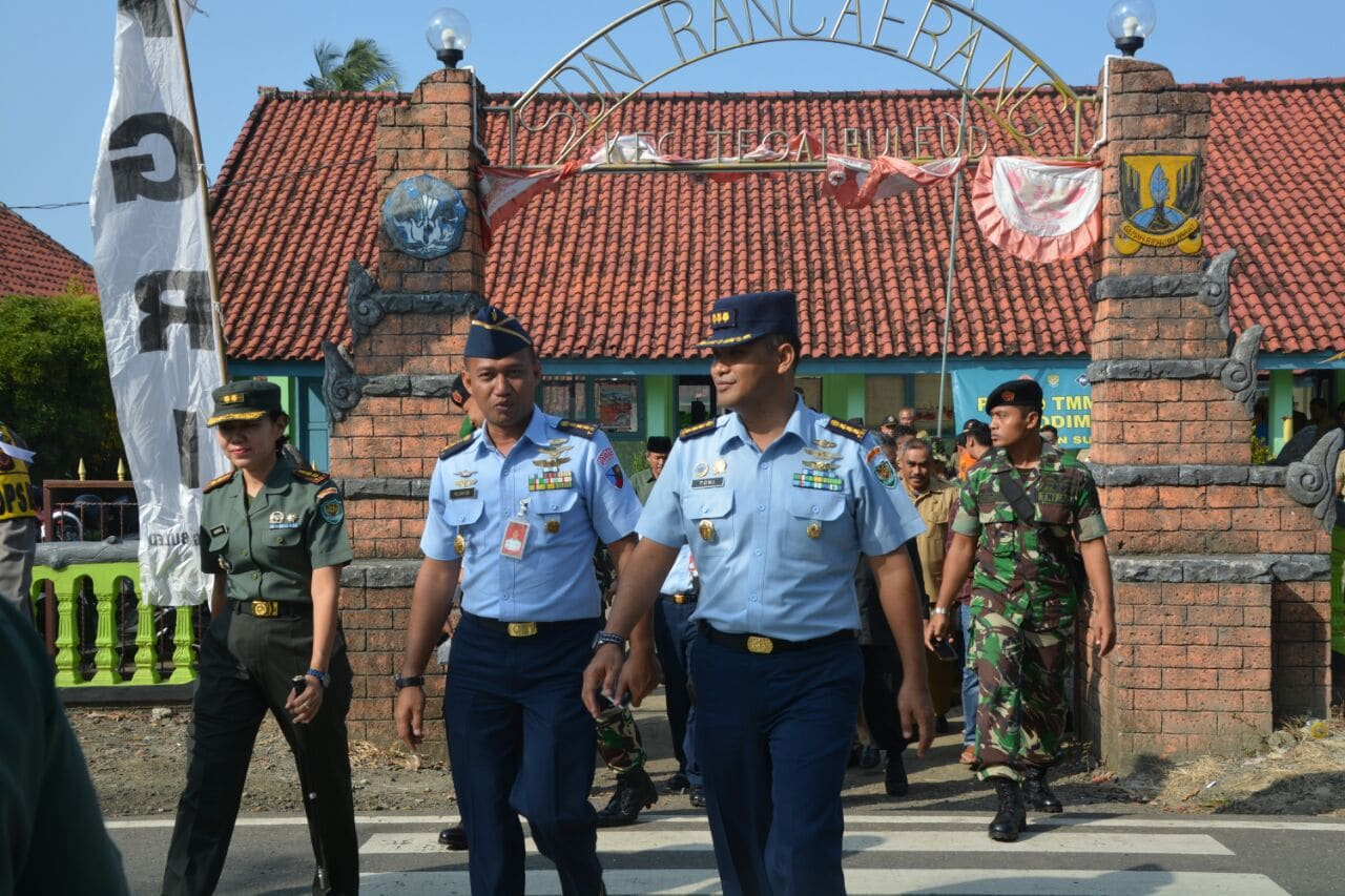 Tentara Manunggal Membangun Desa (TMMD) Dibuka Bupati Sukabumi