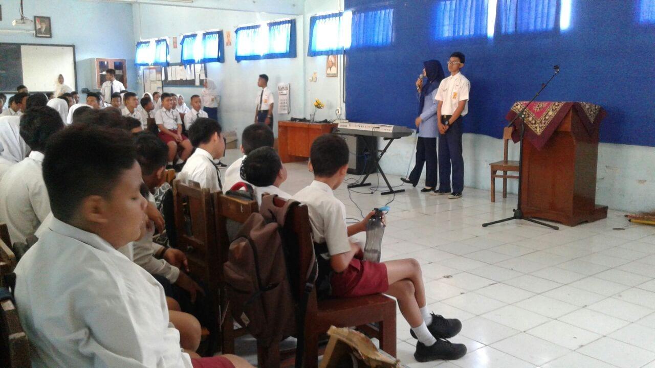 Pengenalan Lingkungan Sekolah Siswa Baru SMP Angkasa Adisutjipto