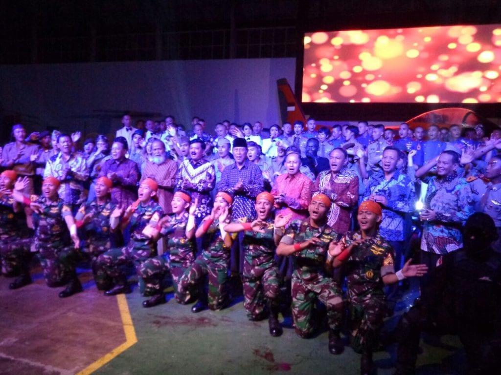 Sesepuh TNI AU Disuguhi Theatrikal Perjuangan TNI AU