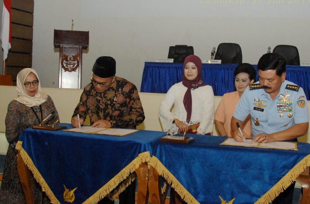 TNI AU Gandeng Kemendikbud Bangun Pendidikan Berkualitas