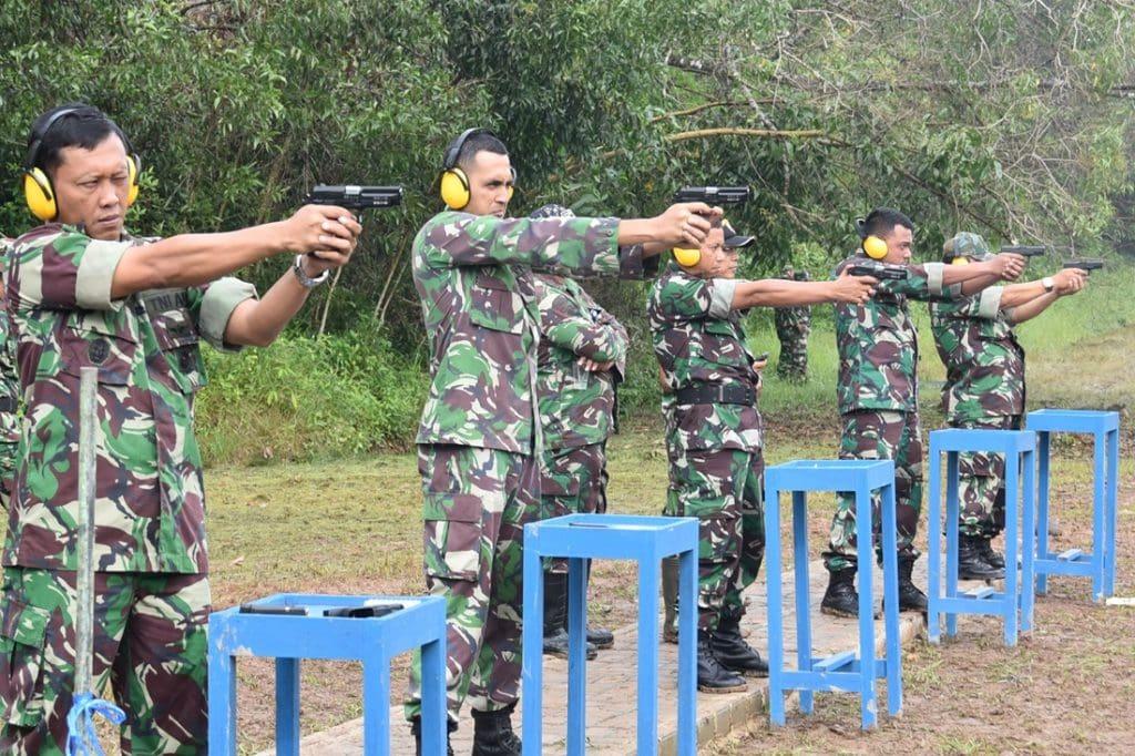 Lanud Smh Latihan Menembak Laras Panjang Dan Pendek Tw.Iita.2017