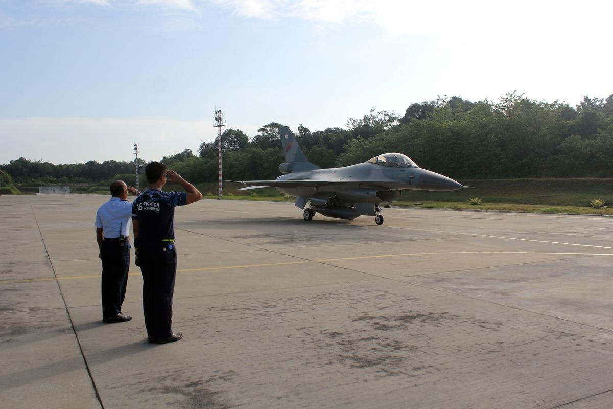Skadron Udara 16 Laksanakan Patroli Udara