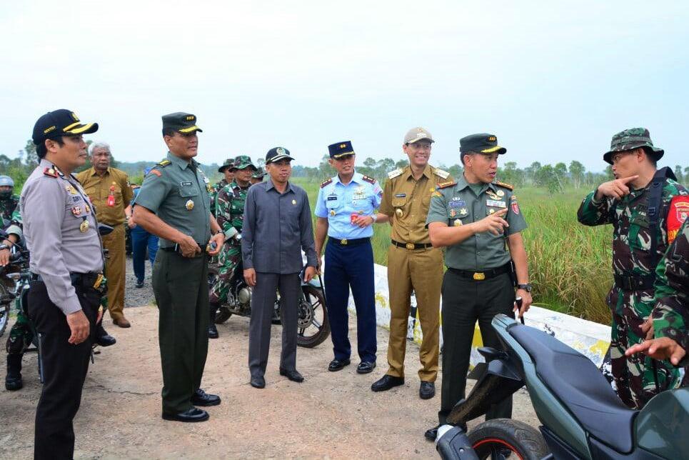 Pembukaan TMMD Ke-99 TA. 2017Di Kabupaten Tanah Laut Kalimantan Selatan