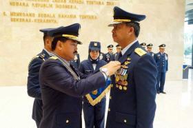 Sepuluh Pati TNI AU Mendapat Bintang Swa Bhuwana Paksa Pratama