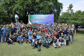 Peringatan 17 Tahun Alumni Semapa PK TNI Tahun 2000 di Satharlan