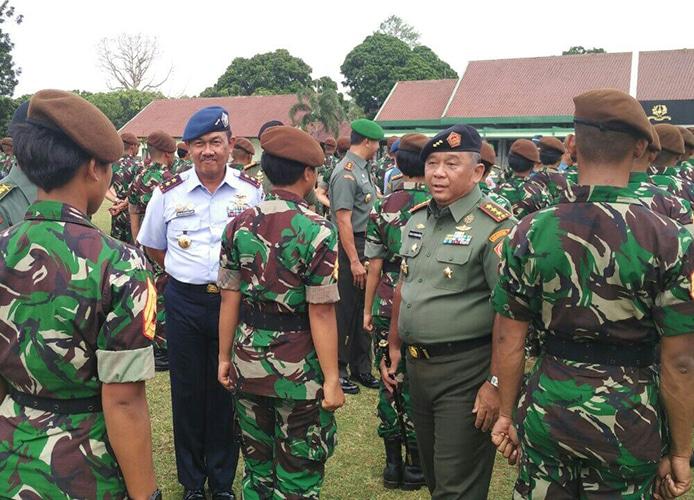 KONTINGEN ATLET TARUNA AKADEMI TNI DALAM 3rd CISM WORLD CADET GAMES RESMI DIBENTUK