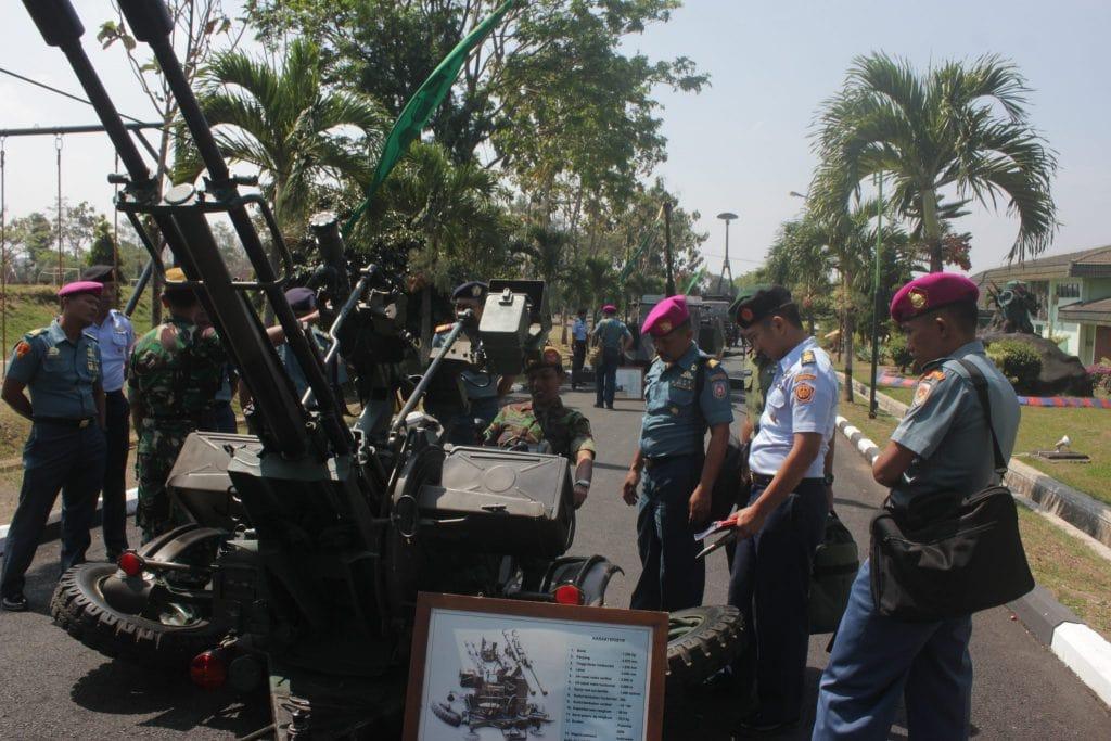 Kunjungan Suspa Pernika Hanud XI ke Pusdik Arhanud Malang