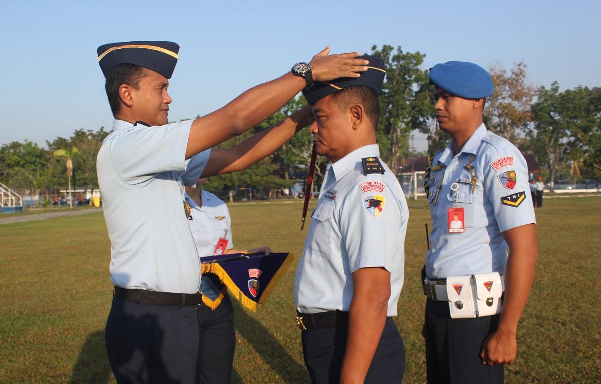 Personel Lanud Rsn Dapatkan Pangkat Penghargaan