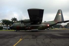 Bantuan Sosial Rohingnya Lanud Abd Saleh Berangkatkan 2 Hercules