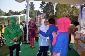 PIA AG Lanud Ats Mengikuti Olahraga Bersama TNI-Polri