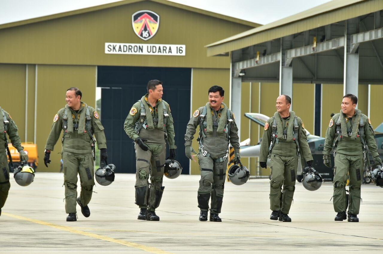 Kasau Onboard F-16 Fighting Falcon