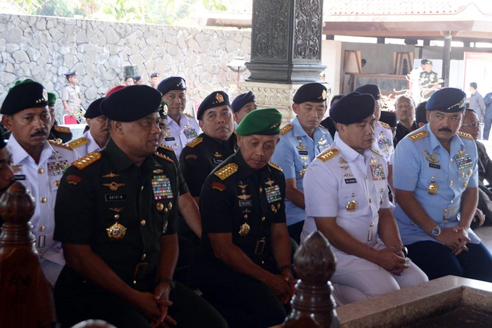 Route Ziarah Panglima TNI ke Jawa Timur