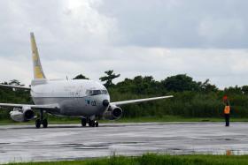 Pesawat Militer Indonesia dan Singapura Temukan Sasaran Mencurigakan di Selat Karimata