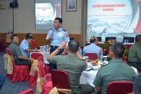 Kohanudnas Gelar Sosialisasi Sishanudnas Bagi Unsur Hanud TNI AD