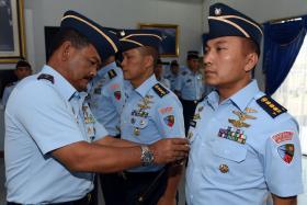Dua Jabatan Kepala Dinas Lanud Sultan Hasanuddin Diserahterimakan