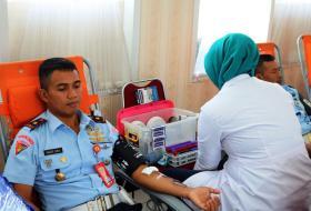 Sambut Hut Pomau Ke-71 Gelar Donor Darah