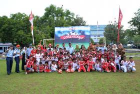 Peringatan Sumpah Pemuda Coca-Cola Amatil Indonesia Gelar Coke Kicks