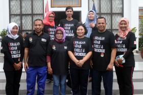 Jalan Sehat Bersama Masyarakat Morotai