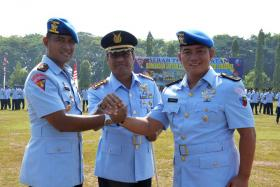 Mayor Pom M.S.Nasution Jabat Dansatpom Lanud Surabaya