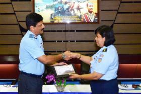 20 Perwira Delegasi HACC India Kunjungi Mabesau.