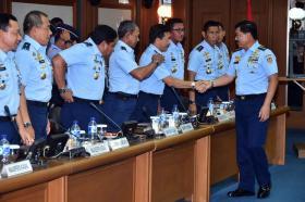 Kasau : TNI AU Harus Selalu Siap Menghadapi Segala Perkembangan Yang Terjadi
