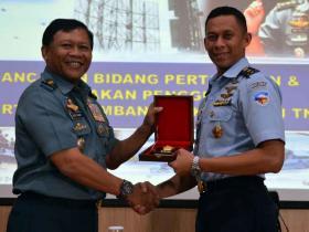 Pembekalan Kasum TNI Kepada Pasis Seskoau A-54