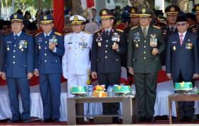 Pangkosekhanudnas II Ikuti Upacara Hari Pahlawan di Makassar