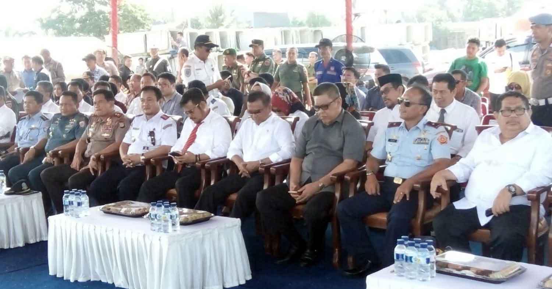 Paninjauan dan uji coba Gerbong Rel Kereta Apidi Kab. Barru Sulawesi Selatan