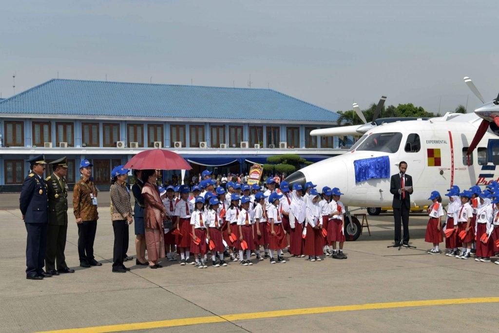 Kasau Jadi Saksi Pemberian Nama Nurtanio Untuk Pesawat N-219