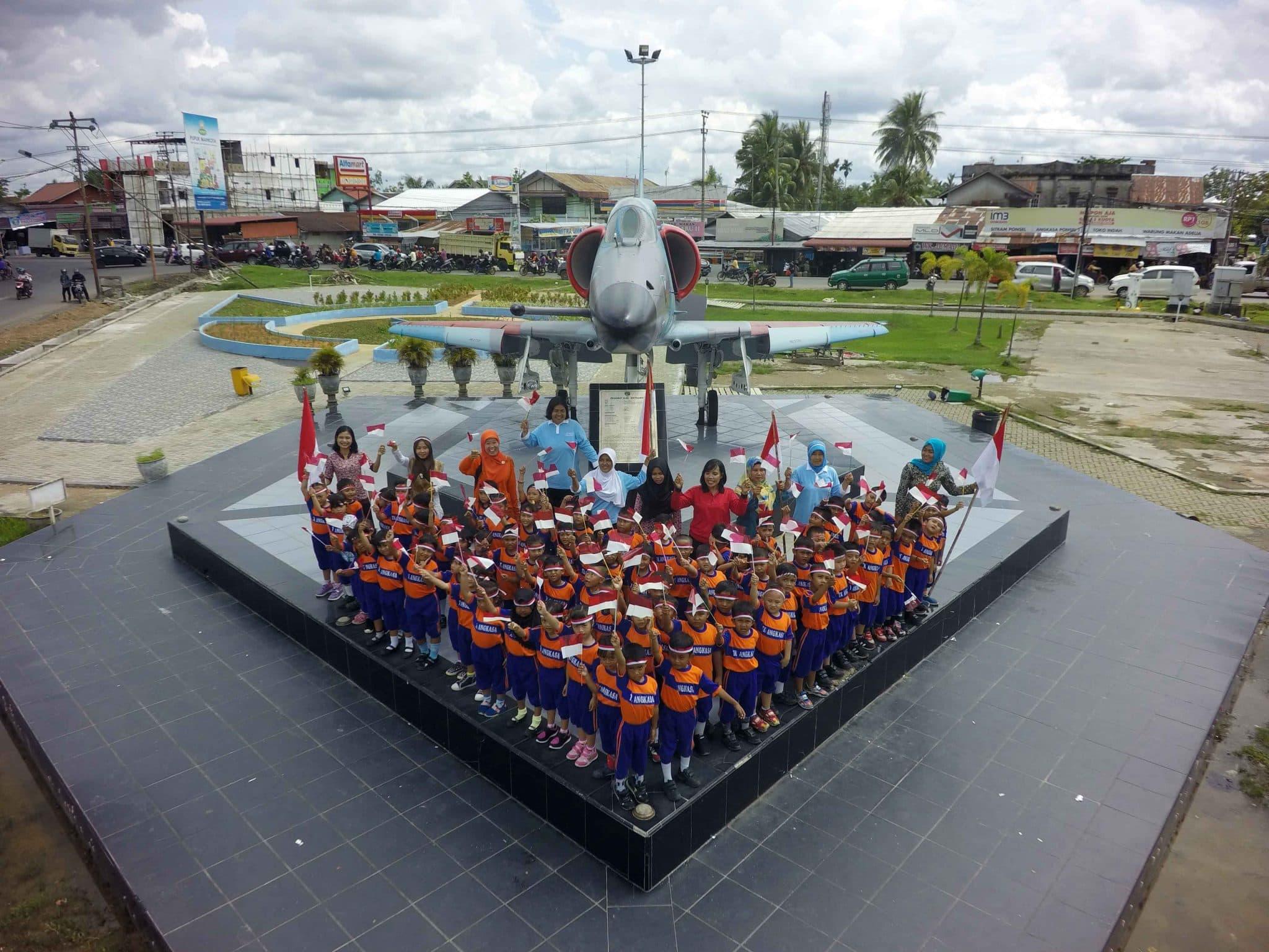Lanud Supadio Gelar Semarak Indonesia Jaya Hadirkan Ribuan Peserta dari Kalangan Generasi Muda