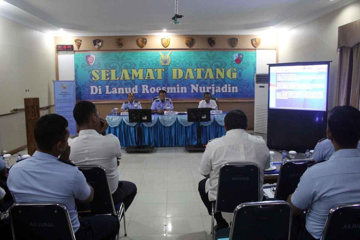 Lanud Rsn dan LPPNPI Pekanbaru Gelar Diskusi