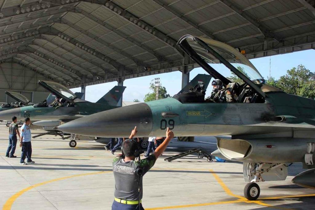 Skadron Udara 16 Laksanakan Latihan Bido Jelajah