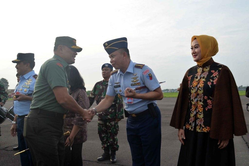 DANLANUD SOEWONDO SAMBUT KEDATANGAN PANGLIMA TNI