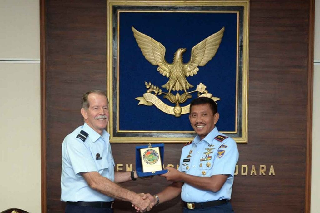 JOINT WORKING GROUP SAFETY DAN AIRWORTHINESS TNI AU-RAAF DISELENGGARAKAN DI AAU