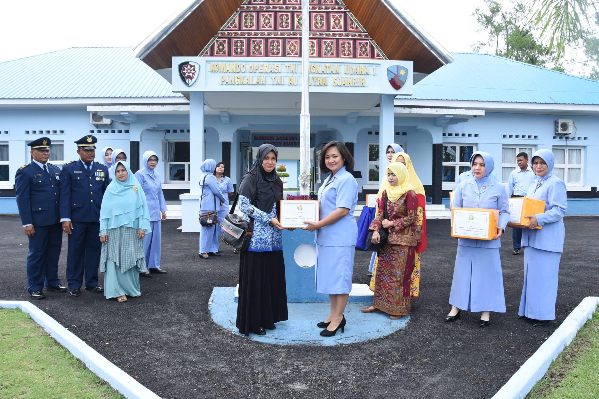 PIA Ardhya Garini Lanud Sutan Sjahrir Silaturahmi dengan Warakawuri